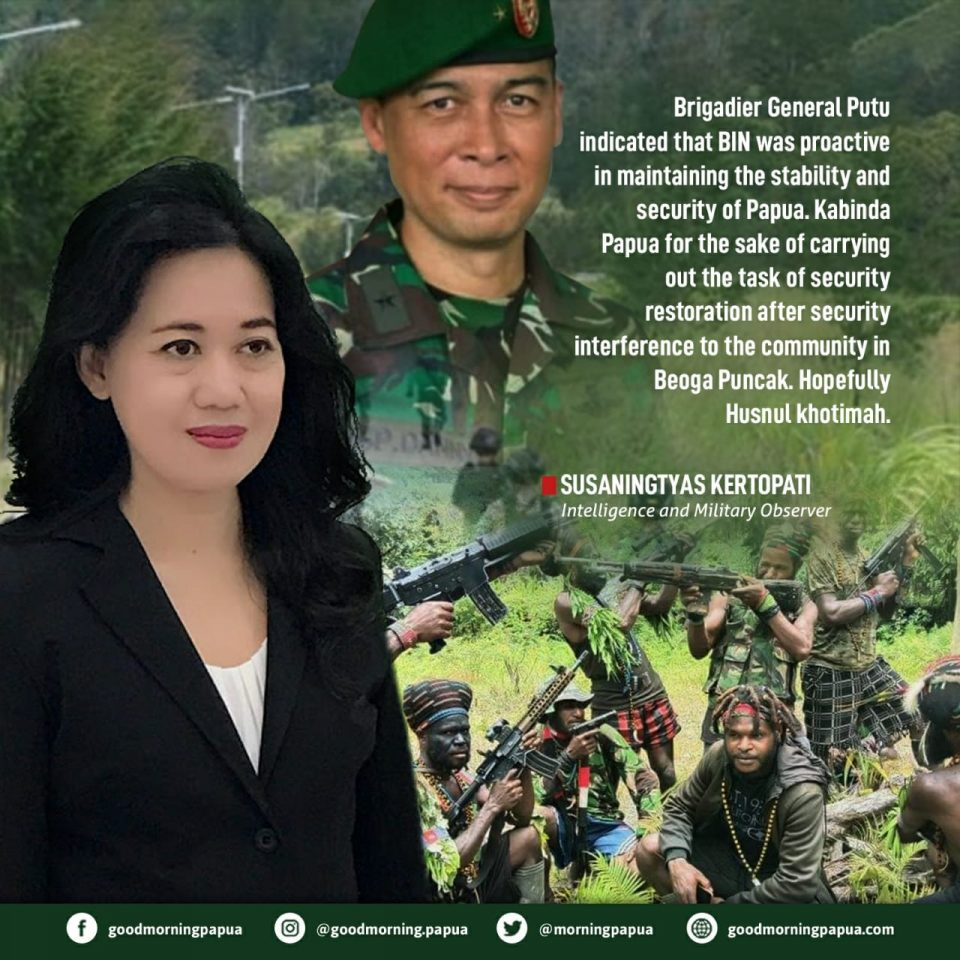 Tragedy of the Fall of Brigadier General Gusti Putu: The Sacrifice of Lives Against the Cruelty of Papuan KKB